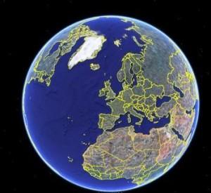 为什么地球是圆的而地面是平的