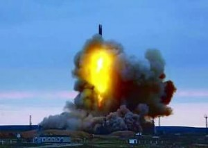 发射的弹道导弹