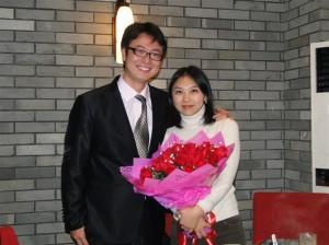 海涛与妻子