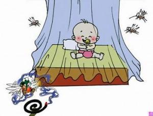 蚊帐、蚊香可以预防被蚊子叮咬