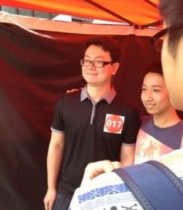 在中国好声音演唱完流年的海涛
