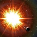 超新星爆发效果图