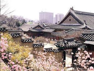 首尔的美丽民居