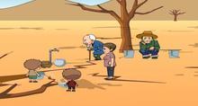 可利用的淡水资源有限