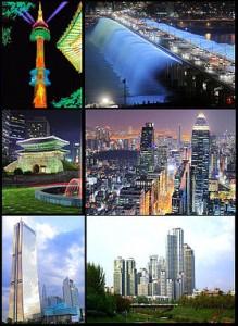 高度发达的首尔