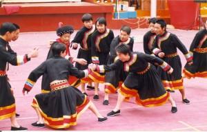 壮族民族歌舞-巫舞