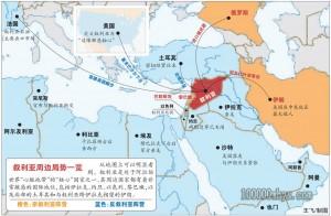 叙利亚的战略位置