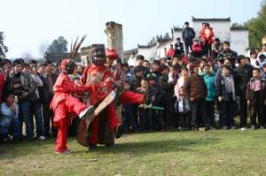 传统的傩舞