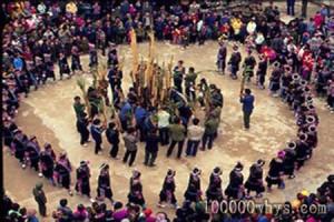 土家族传统的挥手舞