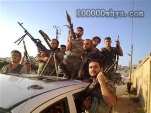 叙利亚的武装人士