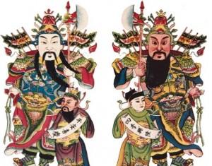 为什么中国人喜爱门神?
