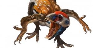 长羽毛的恐龙-始祖鸟
