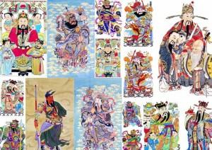 中国人喜爱门神