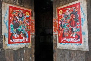 中国的门神