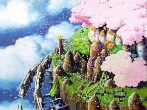 宫崎骏的封面插画
