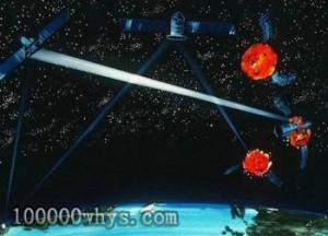 反卫星武器想象图