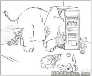 大力士装大象