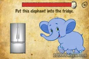 最后关上冰箱门