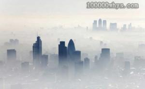 城市中的雾霾天气