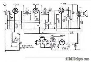 收音机结构图