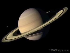 戴草帽的土星