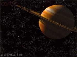 美丽的土星
