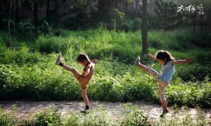 太极拳健身功效多