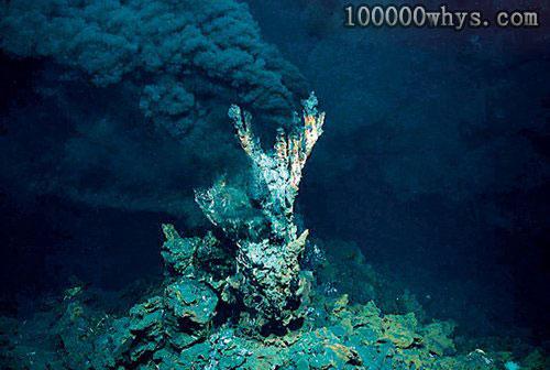 """海底为什么会有""""黑烟囱"""""""