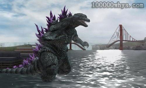 辐射会导致哥斯拉怪兽吗
