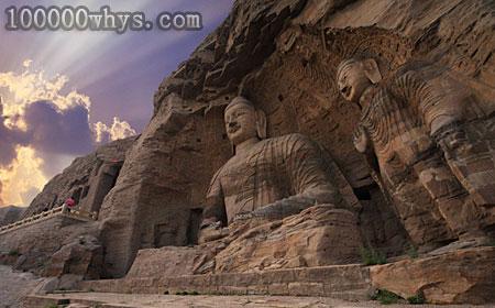 为什么许多古代佛像建在石窟里