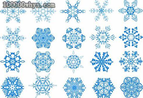 为什么雪花的外形多种多样