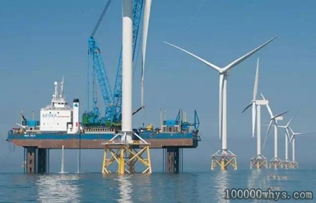 风力发电厂造在海上好, 还是造在陆上好