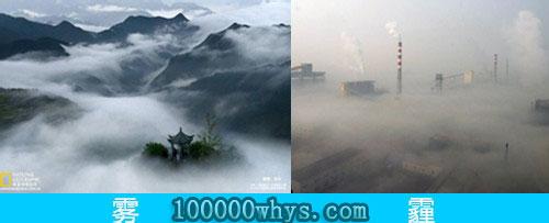 雾和霾有什么不同