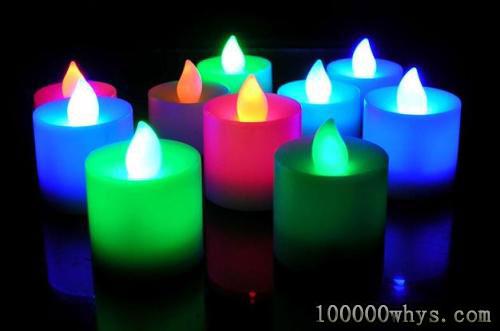 彩焰蜡烛的火焰为什么会五颜六色