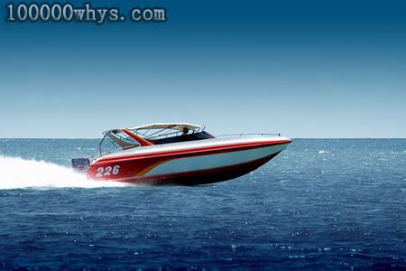 快艇为什么能高速航行