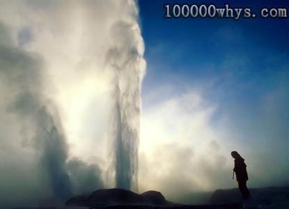 为什么有的天然喷泉会时喷时停